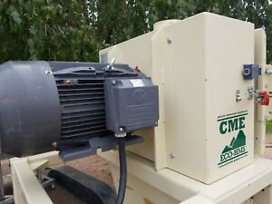 Colorado Mill Equipment Eco hms 20 Hp Hammer Mill Grinder Wood Feed Us Made