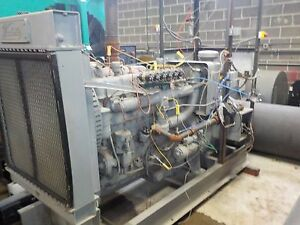 Waukesha F817gu 75kw Used Generator With Catalyst And Emission Control