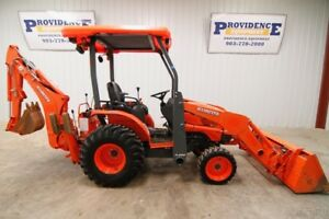 Kubota B26 Hst 4wd Tractor Loader Backhoe With Only 376 Hours