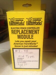 American Farm Works Zareba Electric Fence Controller Replacement Module
