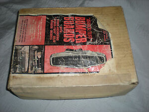 New Vintage Rare Superior Industries Armor Tuff Bumper Guards 380 American Cars