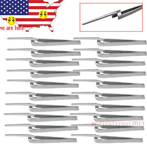 20x Usa Clinical Dental Forceps Straight For Handling Articulating Paper Holder
