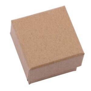 Sdootjewelry Jewelry Boxes Creative Ring Earrings And Necklace Kraft Paper Box X