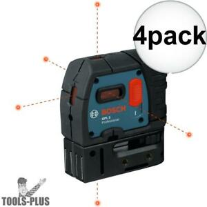 Bosch Gpl5 rt 4x 5 point Class Ii 1mw Self leveling Alignment Laser New