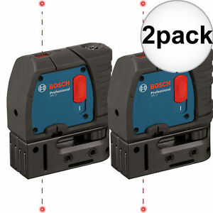 Bosch Gpl2 rt 2x 2 point Self leveling Class Ii 635 670 Nm Laser Level