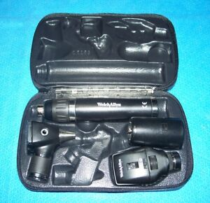 Welch Allyn Lithium Ion smart Set Diagnostic Otoscope Coaxial Ophthalmoscope