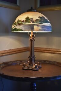 Antique Moe Bridges Table Lamp 1915 Or There Abouts