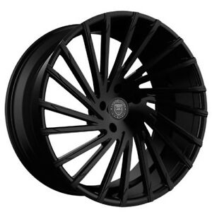 New 4 26 Lexani Wheels Wraith Gloss Black Rims Fh