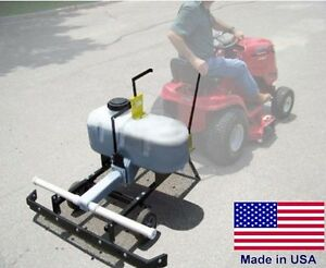 Pull Behind Asphalt Sealcoating Machine 26 Gallons Gravity Fed Commercial