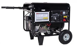 Welder And Generator Combo Gas 4000 W 120 Volts 6 5 Gal 10 Hr Run Time