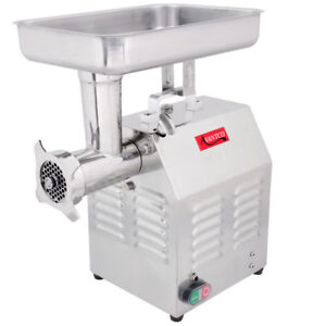 Avantco Mg12 12 1 Hp Commercial Electric Countertop Meat Grinder 110v