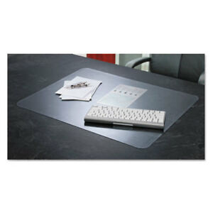 Artistic Krystalview Desk Pad With Microban 24 X 19 Matte Clear