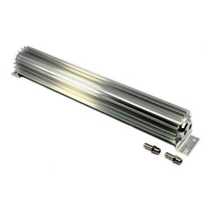 Transmission Double Pass Trans Cooler In Line Universal 15 Finned Aluminum