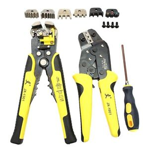 Paron Jx d4301 Wire Strippers Tool Set Ratchet Terminals Crimping Pliers 4 In 1