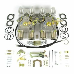 Twin Weber 45 Dcoe Carburettor Kit For Vw Golf 16v Engine