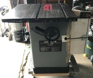 Delta Unisaw 10 Tilting Arbor Table Saw Model 34 802 Single Phase