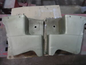 1969 1970 Mercury Cougar Convertible Xr7 Rear Pair Seat Side Trim Panels Green