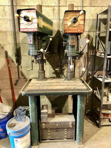 Dual Head Powermatic Drill Press