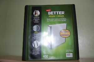 8 Staples Better 1 5 1 1 2 inch D 3 ring View Binders Green 22165