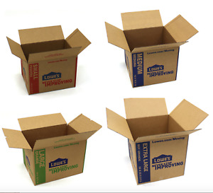 Cardboard Boxes Mailing Organizing Moving Shipping Packing Storage Move Store