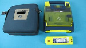 Cardiac Science Powerheart G3 Aed With 2016 Battery Case excellent Condition