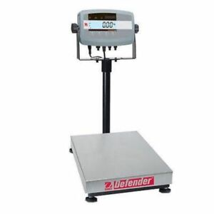 Ohaus D51P15HR1 Defender 5000 Bench Scale Cap 30lb Read 1g 0.005lb With Warranty