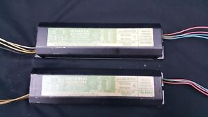 2 Universal Magnetic Ballasts 120 Volts 60 Hertz 446lrtcp Set Of 2