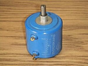 Bourns 3400s 1 103 Potentiometer 5w 10k Ohm 10 Turn Wirewound Bushing Mount