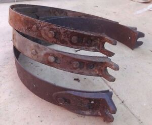 1926 1927 Model T Ford Quick Change Transmission Brake Bands Original Set 3