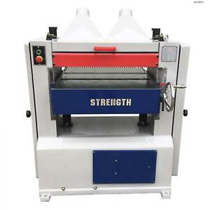 Strength 25 5 5 Hp Planer With Spiral Cutterhead 3 phase Woodworking