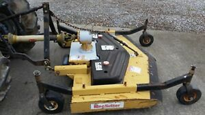 5 Ft King Kutter Finish Mower Deck 3pt Hitch New Blades Rear Discharge
