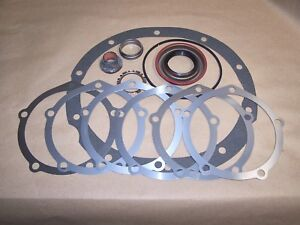 Ford 9 Inch Install Kit With Nut Shim Crush Sleeve Seal O Ring Retainer Gasket