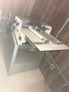 Rosback 220 b True Line Perforator