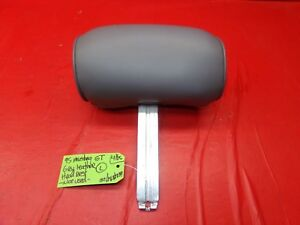 94 98 Mustang Grey Gray Leather Front Seat Head Rest Headrest Oem Ford Lh Rh 239