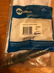New Miller 221087 Air Cooled Pistol Barrel Assembly