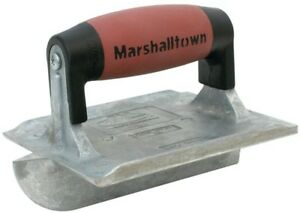 6 In d X 4 3 8 In w Zinc Concrete Slab Groover Resilient Durasoft Handle Edger