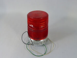 Federal Signal 131st 120r Strobe Warning Light Red 120v Used