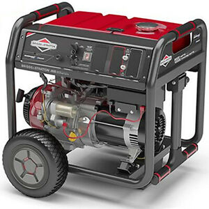 Briggs Stratton 30679 8000 Watt Electric Start Portable Generator W Blue