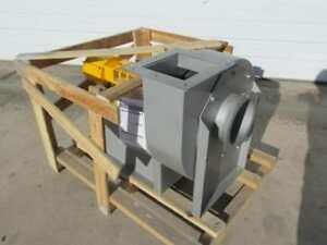 Cincinnati Rbe 9 Centrifugal Blower Ventilation Exhaust Fan 1000 Cfm 3 4 Hp