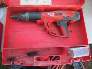 Hilti Dx 460 Mx Tool Case Great Condition Actuated Grating X 460 f8