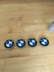 Bbs Rs007 Rm 70 6mm Bmw Factory Roundel Emblem 3 tab Center Hex Caps Rs005 Rs020