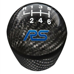 Ford Performance 2016 2018 Focus Rs Carbon Fiber Shift Knob 6 Speed M 7213 frscf