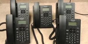 Panasonic Kx hdv130b Sip Phones W power Supplies lot Of 5