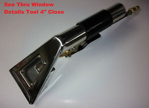 Detail Upholstery Tool Thru Window Close Wand 4 wide Detailing Carpet Clean Usa