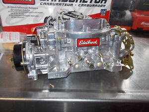 Edelbrock 1406 Electric Choke 600 Cfm Carburetor Brand New