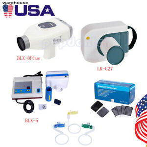 Usps Dental Portable X ray Unit Machine System barrier Envelopes sensor Position