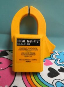 Ideal 61 450 Test pro Ac Current Clamp Accessory For Digital Test pro Multimeter