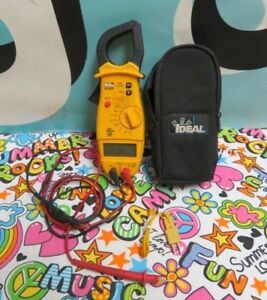 Uei Phoenix Yellow Black Dl250 Clamp On Multimeter Hand Held Tester A8