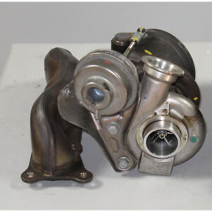 Bmw E90 E92 335i N54 Bank 2 Turbo Charger With Rebuilt Wastegate 82k Manifold Oe