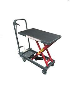 Pake Buy Hydraulic Mobile Scissor Lift Table 500lbs